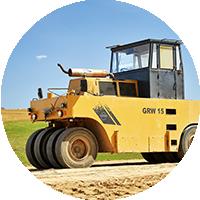 Żółty stabilizator gruntu GWR 15 Szczucki