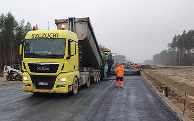 Budowa drogi – etapy robót ziemnych