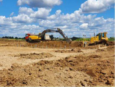 Podstawowy sprzęt budowlany do robót ziemnych